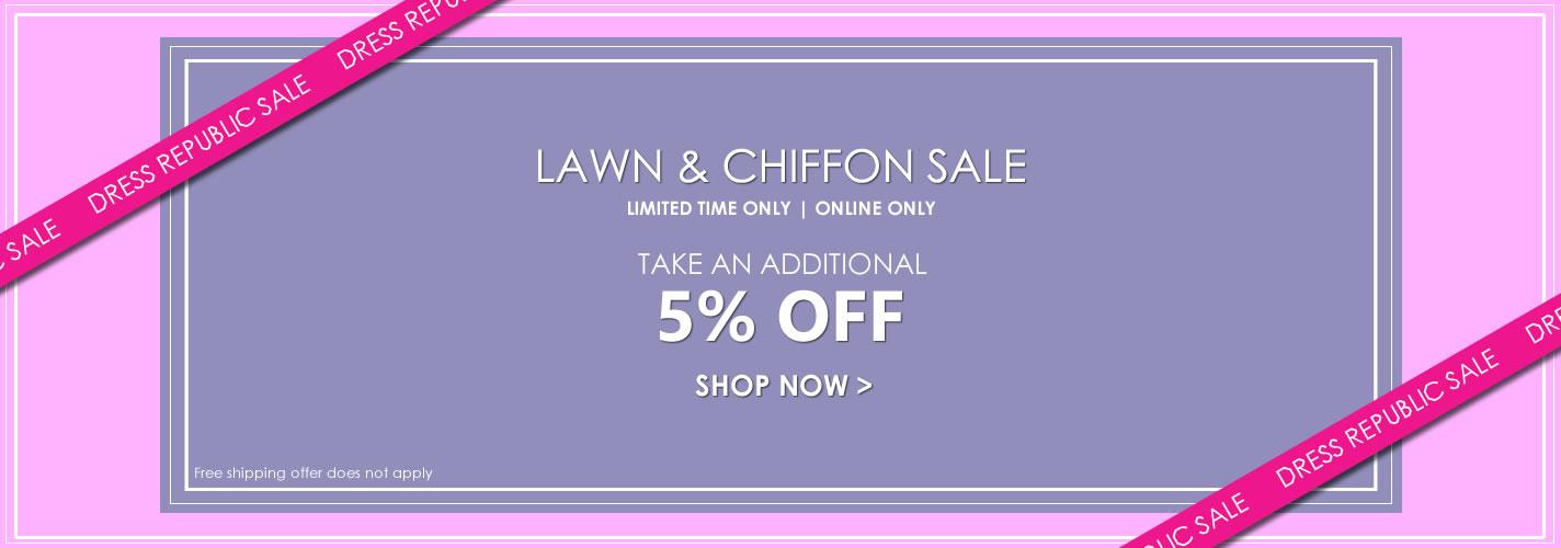Dress Republic Lawn & Chiffon Sale 2018