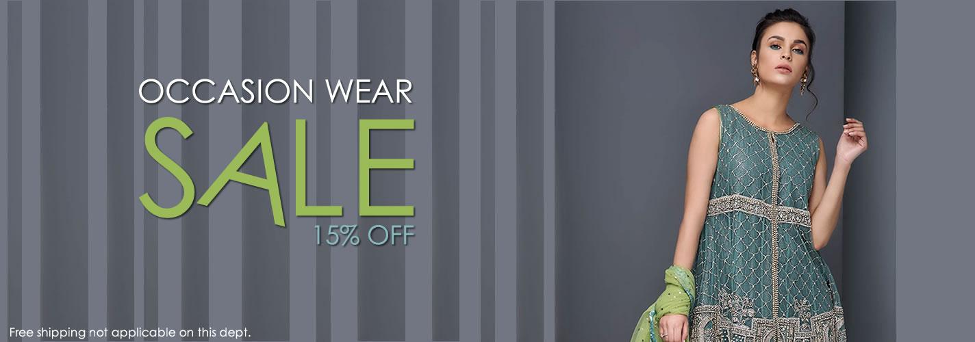Occasion Wear Sale, GET 15% OFF