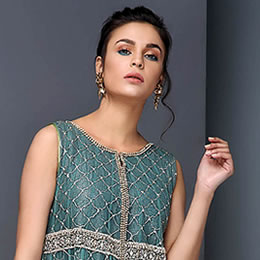 Pakistani Indian Wedding Guest Dresses, Formal Evening Wear