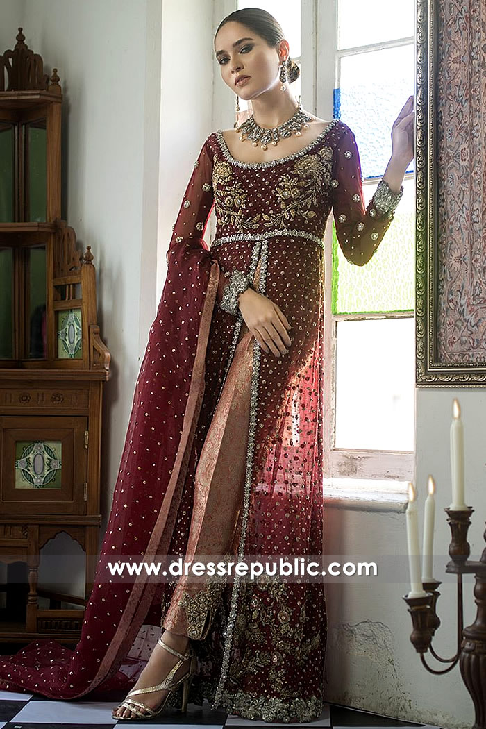 DR15290 Zainab Chottani Wedding Collection 2019 USA, Canada, UK, Europe