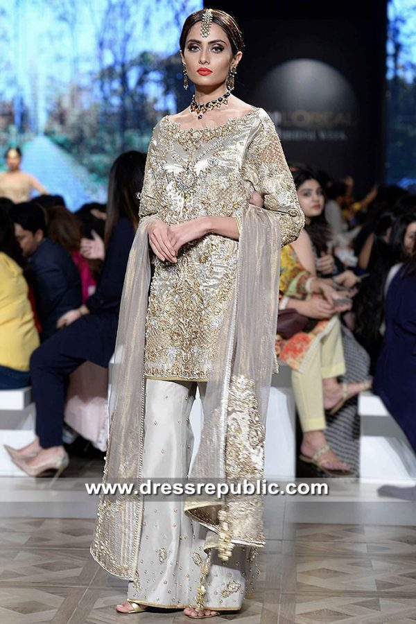 DR15300 Pakistani Designer Formal Dresses 2019 Chicago, Houston, Miami, Tampa