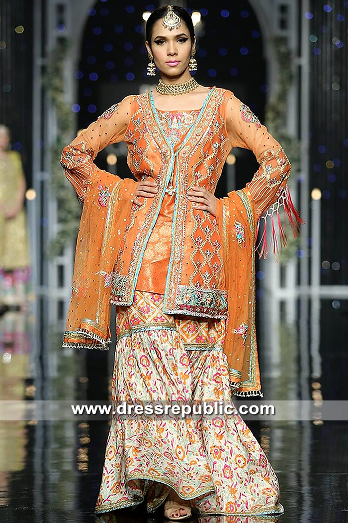 DR15321 Pakistani Reception Bridal Dresses 2019 Online Shopping in USA