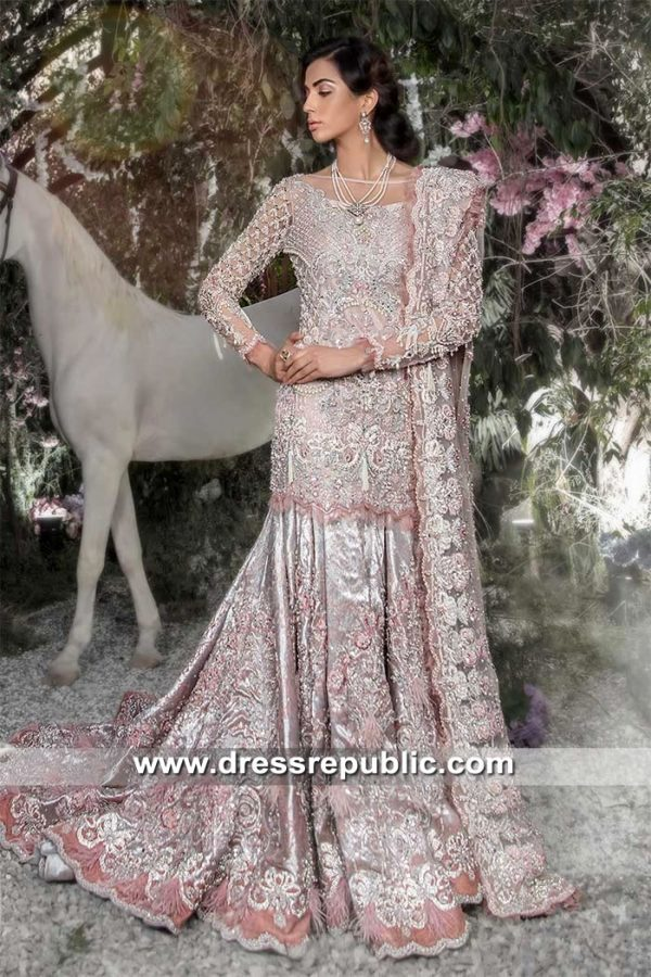 DR15336 Maria B Bridal Lehenga 2019 London, Manchester, Birmingham, UK