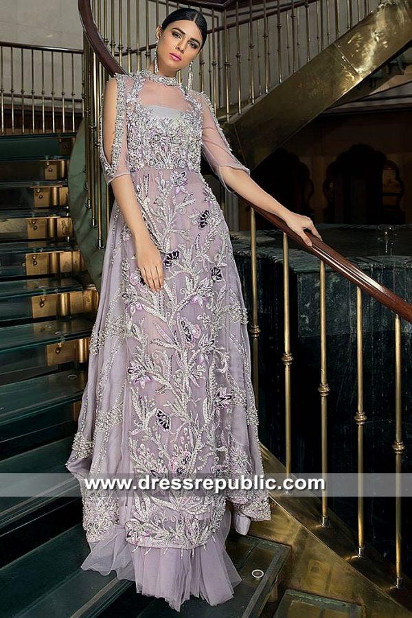 DR15377 Dress for Pakistani Engagement Bride, Dresses for Engagement Party