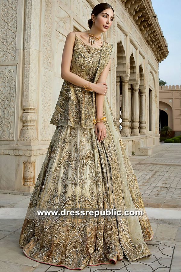 DR15381 Erum Khan Bridal Dresses Norway, Denmark, Sweden, Holland, Europe