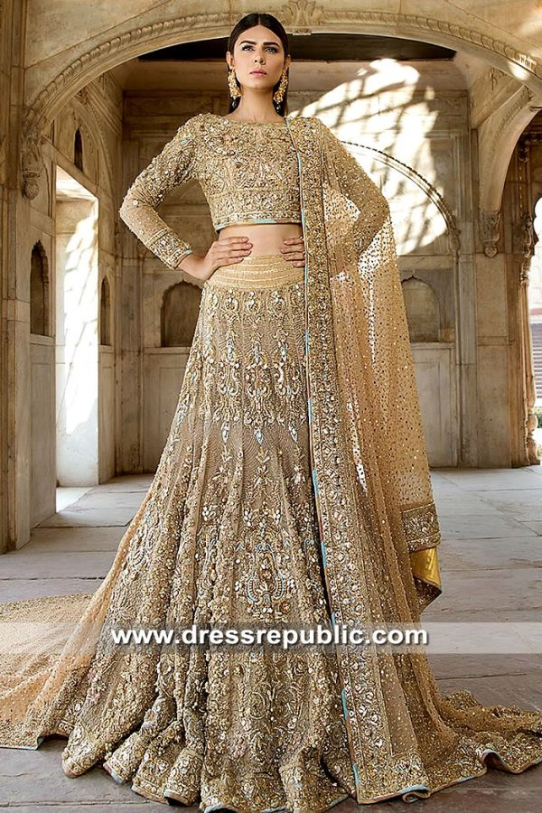DR15393 Pakistani Bridal Dresses Shops in Toronto, Mississauga, Ontario