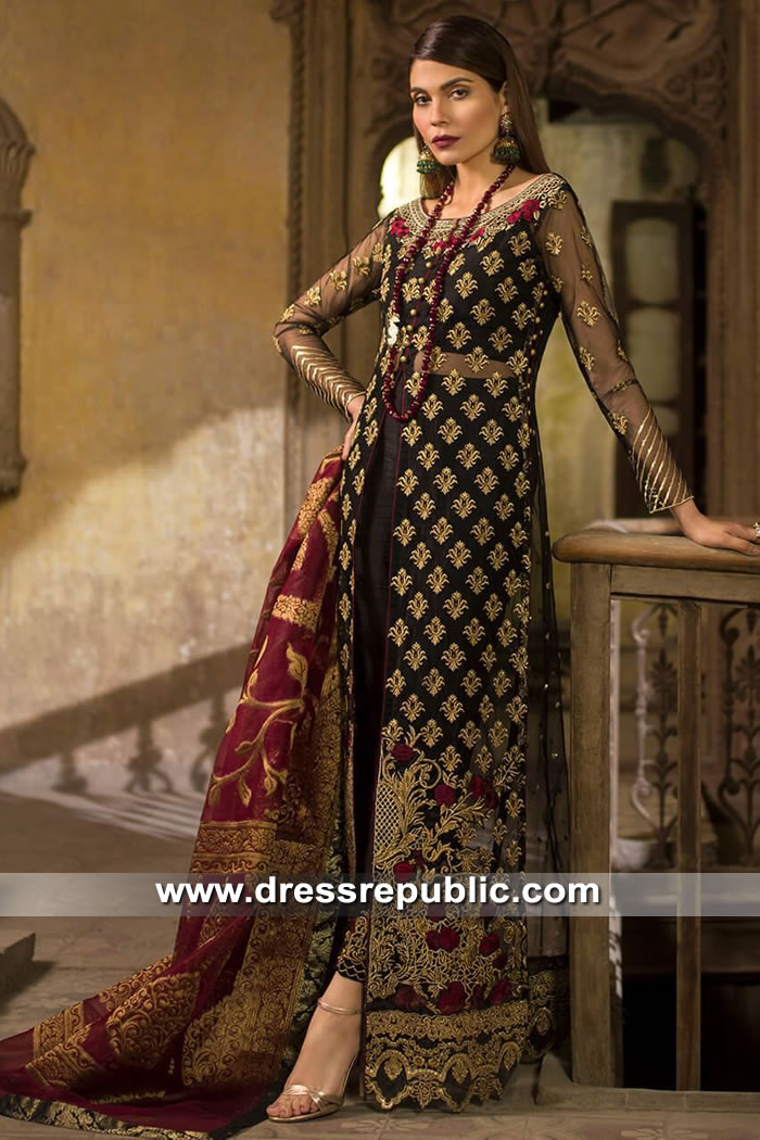 DRP8180 Zainab Chottani Wedding Festive 2019 Collection England, Scotland, UK