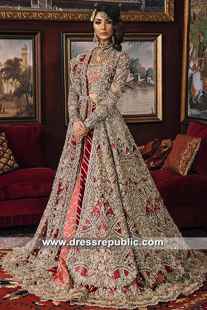 DR15401 Dress Republic Womenswear Red Bridal Dress USA, Canada, UK