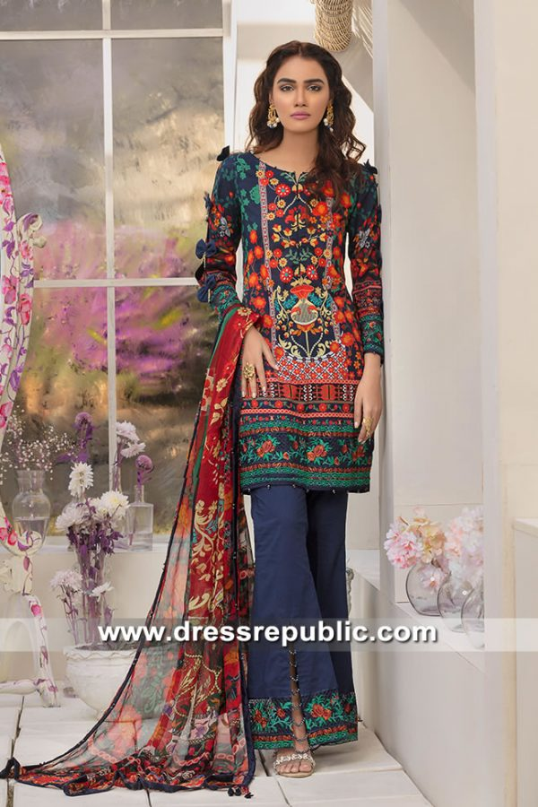 DRP8209 Gulaal Lawn 2019 Vol 1 Buy in Quebec, Montreal, Winnipeg, Edmonton