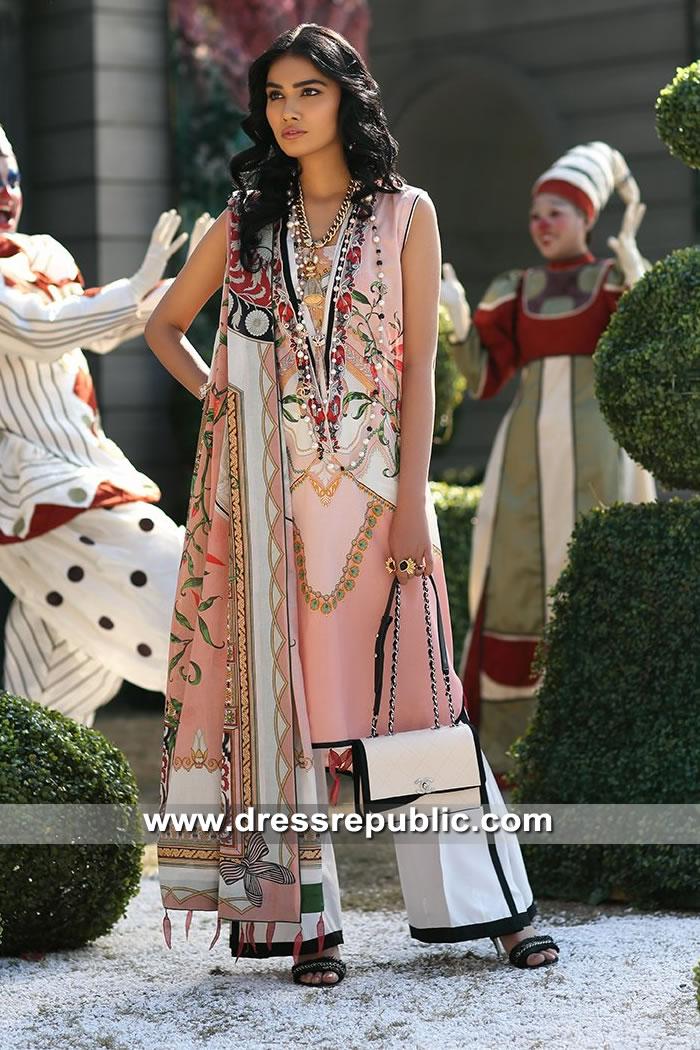 DRP8255 Zaha Lawn 2019 Wholesalers Pakistani Designer Lawn Suits UK