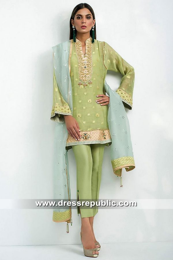 DR15415 Eid 2019 Mint Green Shalwar Kameez Buy in South Africa