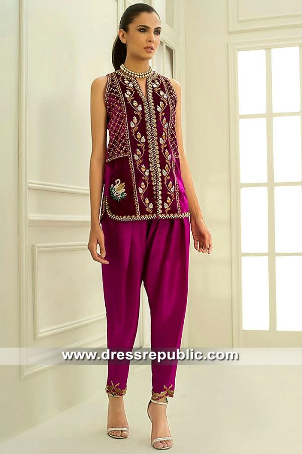 DR15428 Sania Maskatiya NYFW Dresses Buy Online in USA