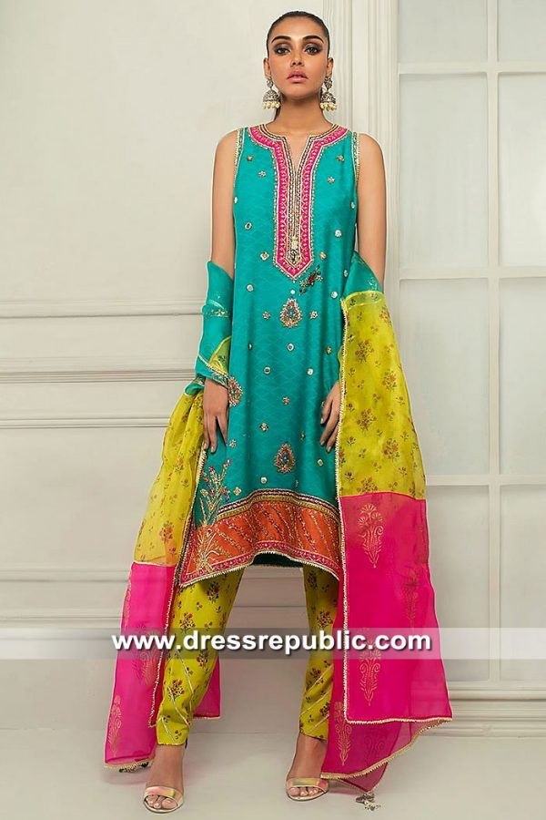 DR15431 Sania Maskatiya Eid 2019 Collection USA, UK, Canada, Australia