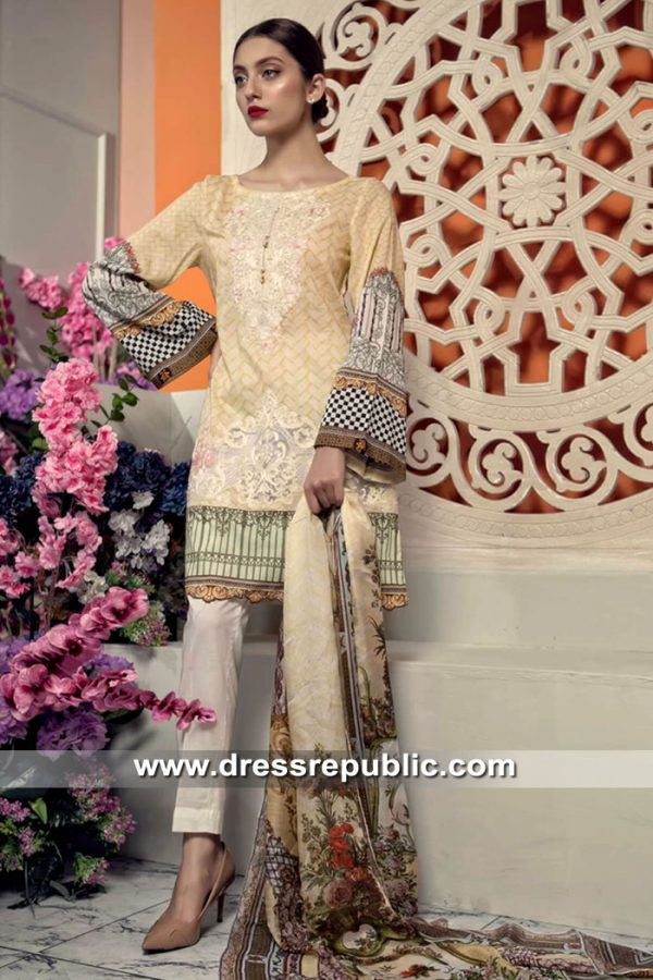 DRP8404 Aayra Lawn 2019 France, Germany, Italy, Switzerland, Belgium