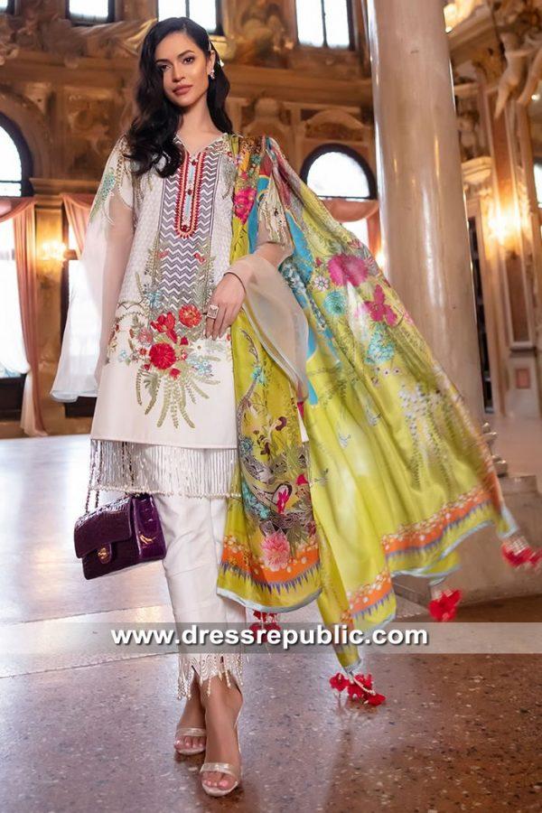 DRP8442 Pakistani Designer Lawn Suits by Sana Safinaz Lawn 2019 Online