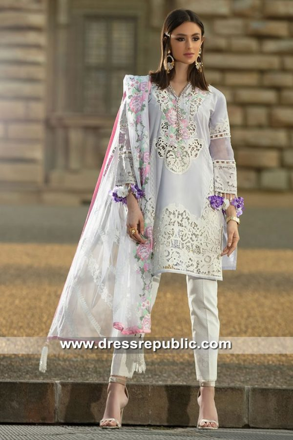 DRP8447 Buy Pakistani Designer Lawn Suits 2019 in UK by Sana Safinaz
