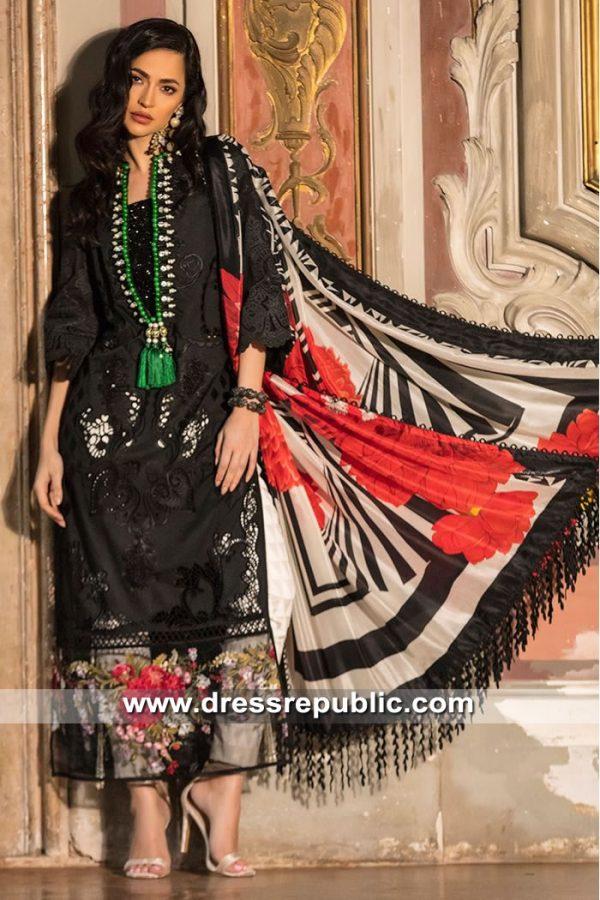 DRP8449 Pakistani Designer Lawn Suits 2019 in Saudi Arabia, UAE