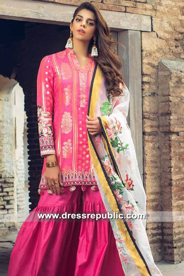 DRP8480 Saira Rizwan Lawn 2019 UK, USA, Canada, Australia, New Zealand