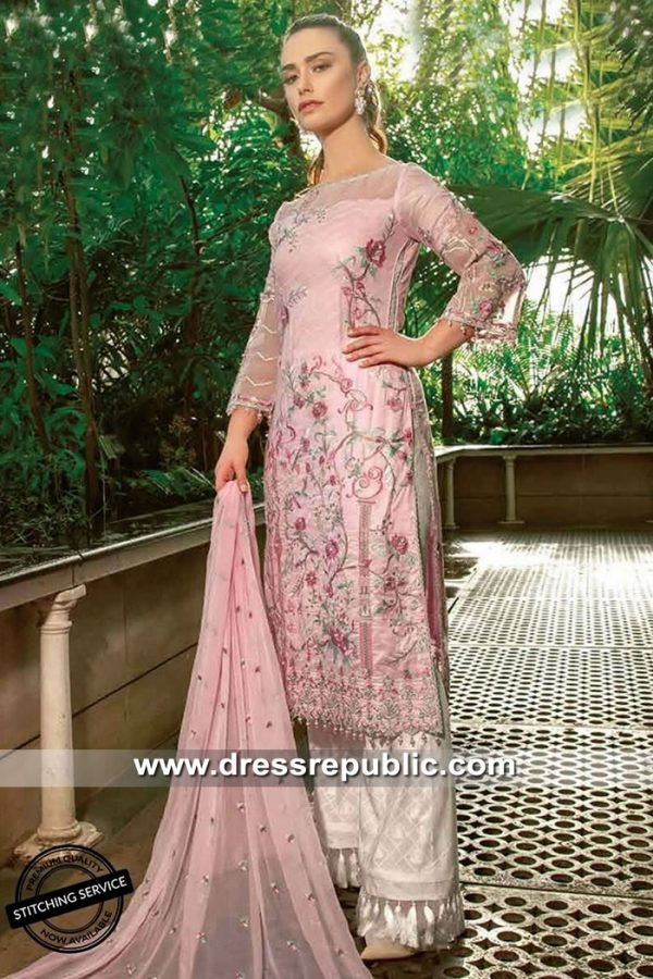 DRP8508 Pakistani Designer Lawn Suits 2019 Asim Jofa USA, UK, Canada