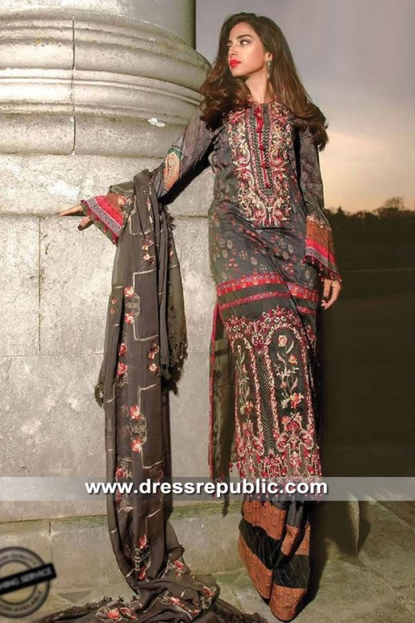 DRP8509 Pakistani Lawn Suits 2019 Los Angeles, Oakland, Long Beach