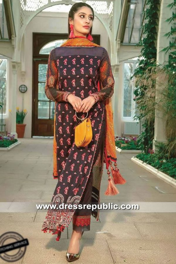 DRP8511 Summer Lawn Suits with Stitching in New York, New Jersey, Texas