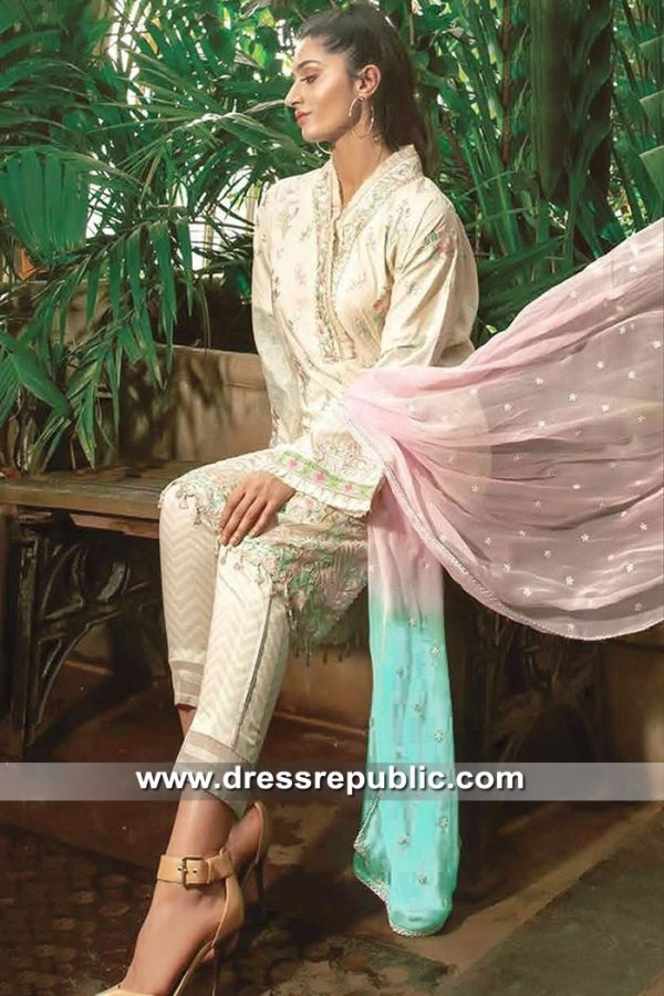DRP8512 Printed Lawn Shalwar Kameez Suits 2019 in Chicago, Illinois