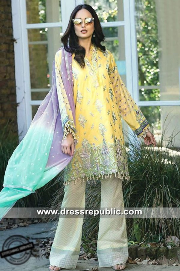 DRP8513 Cotton Embroidered Lawn Suits 2019 Buy in Houston, Dallas, Texas