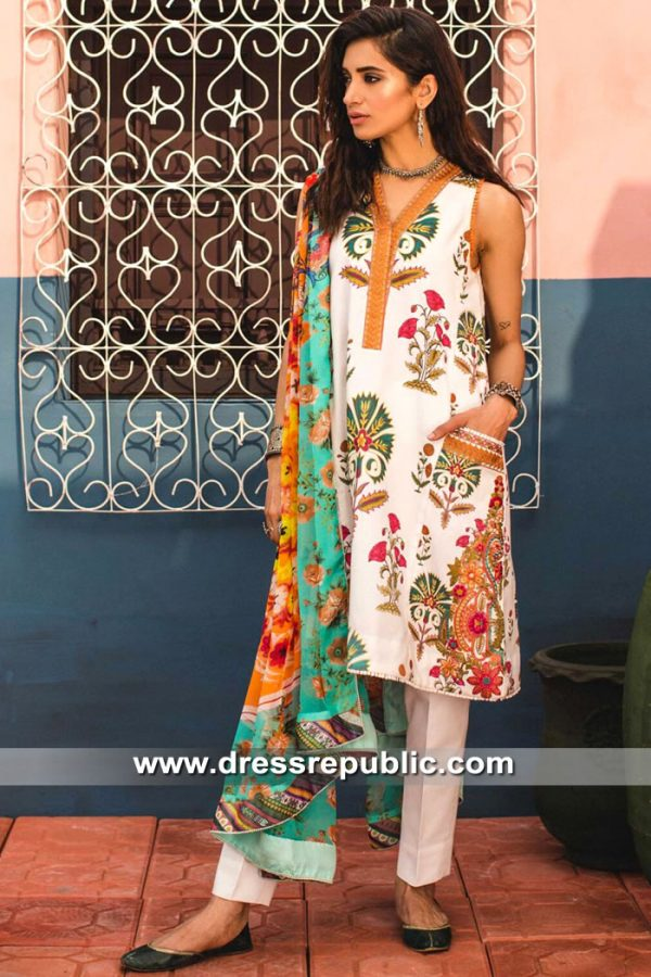 DRP8550 Zara Shahjahan Lawn 2019 USA in New York, Texas, California