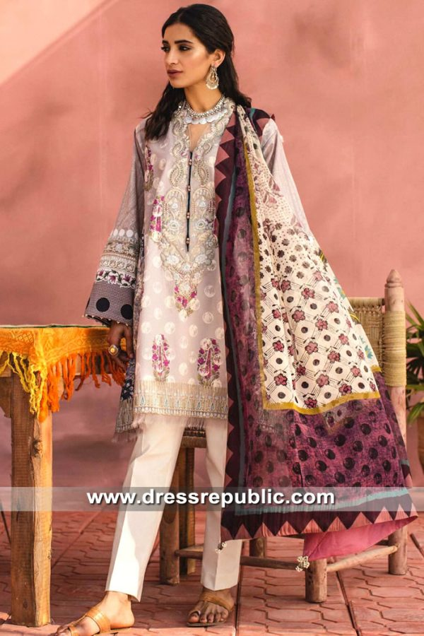 DRP8553 Zara Shahjahan Lawn 2019 in Los Angeles, Fresno, Bay Area, CA