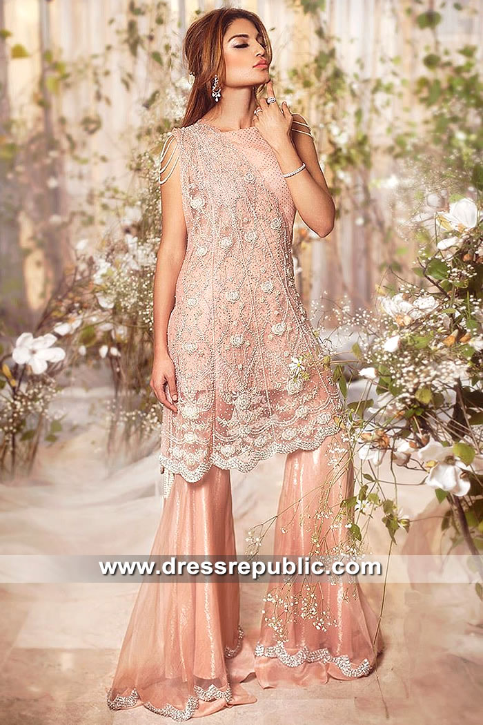 DR15486 Designer Sharara for Special Occasion Buy in England, UK