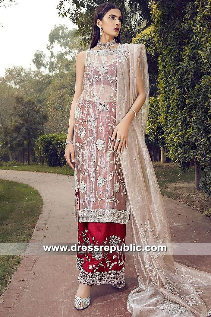 DR15494 Farida Hasan Lukhnow Kurta Online Buy USA, UK, Canada, Australia