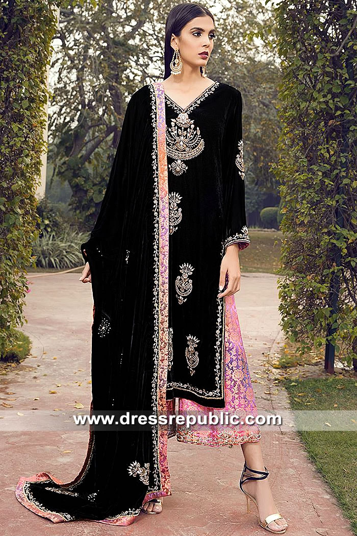 DR15497 Farida Hasan Designer Dresses 2019 USA Online Shopping