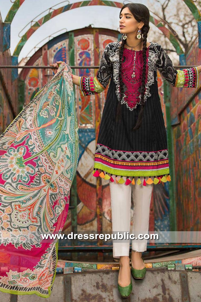 DRP8623 Pakistani Casual Lawn Prints 2019 Buy in New York, New Jersey