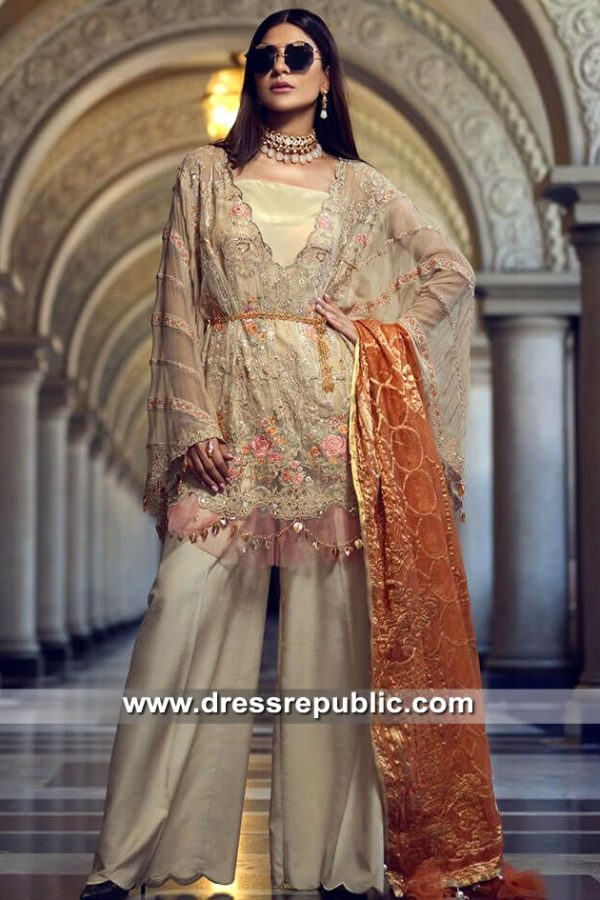 DRP8646 Rang Rasiya Eid Chiffon 2019 Illinois, Colorado, Washington, Michigan