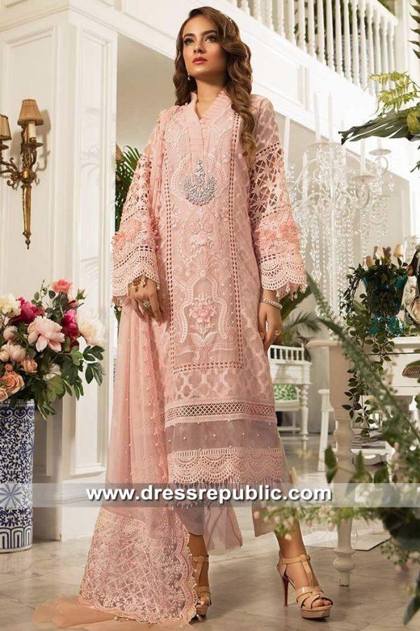 DRP8670 Maria B Mbroidered 2019 Saudi Arabia, UAE, Kuwait, Qatar, Oman