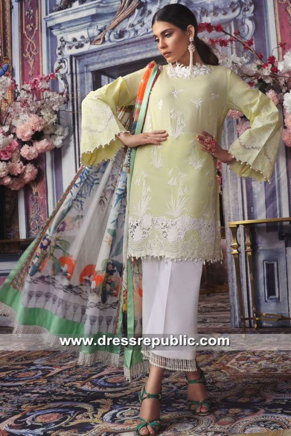 DRP8672 Sana Safinaz Muzlin II 2019 With Stitching & Worldwide Delivery