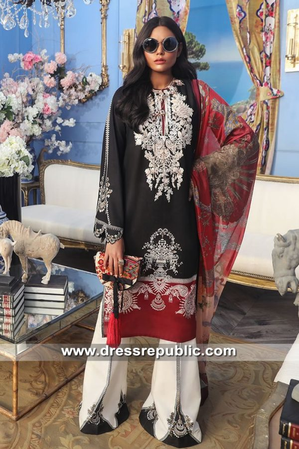 DRP8678 Stitched Pakistani Lawn Suits Glasgow, Edinburgh, Aberdeen, Scotland