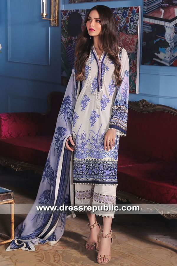 DRP8681 Stitched Pakistani Lawn Suits Houston, Dallas, Miami, Tampa, Orlando