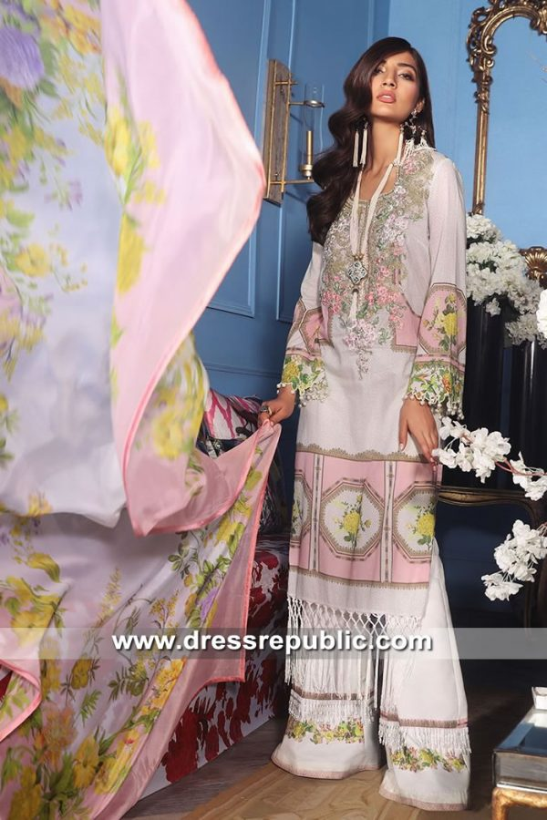DRP8683 Stitched Pakistani Lawn Suits Vancouver, Calgary, Quebec City, London
