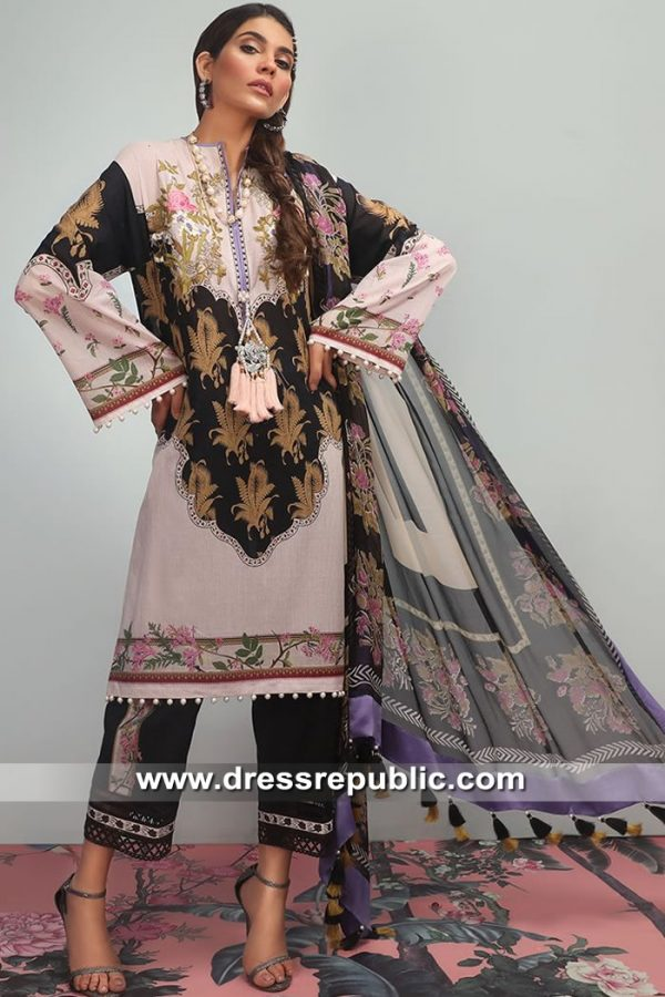 DRP8684 Stitched Pakistani Lawn Suits Hamilton, Ottawa, Kitchener, Winnipeg