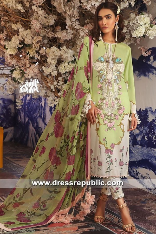 DRP8693 Sana Safinaz Muzlin Suits Newark, Edison, Jersey City, New Jersey