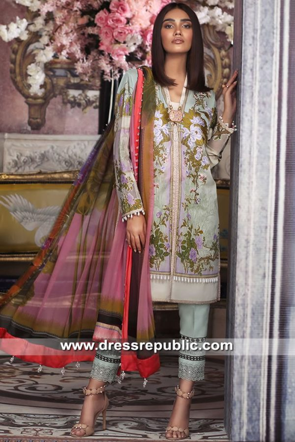 DRP8701 Sana Safinaz Muzlin Suits 2019 Karachi, Lahore, Islamabad, Pakistan