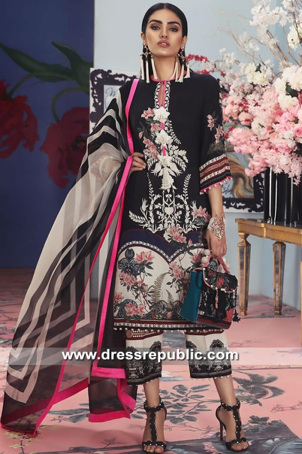 DRP8702 Sana Safinaz Muzlin Suits Norway, Denmark, Sweden, Holland, Europe