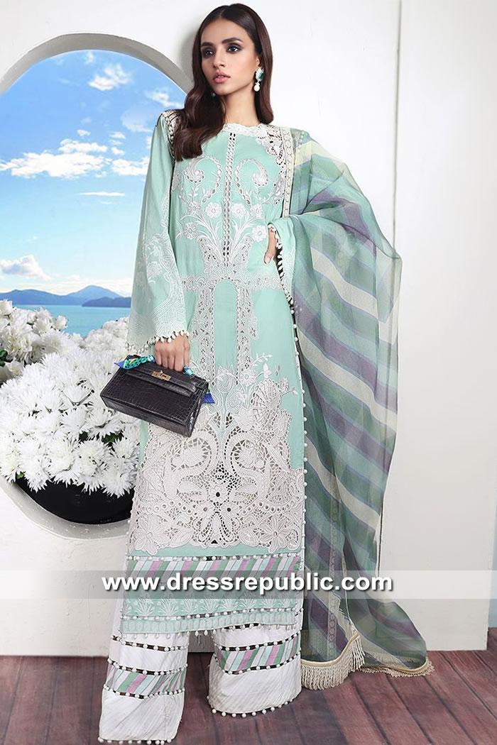 DRP8860 Sana Safinaz Muzlin Luxury 2019 Collection with Stitching Price Online