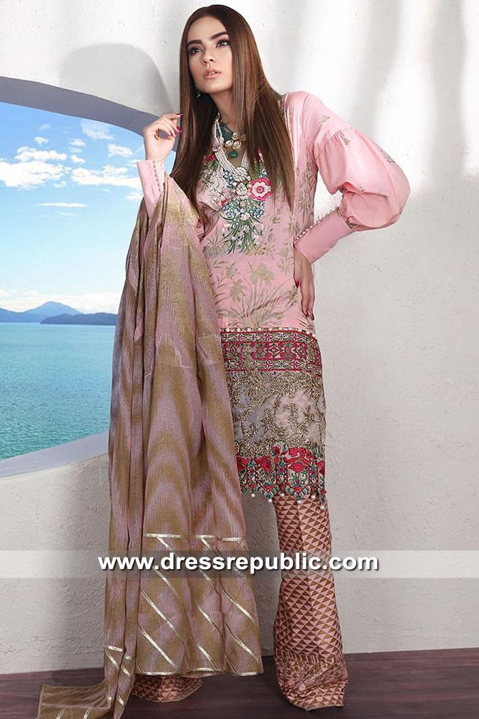 DRP8862 Sana Safinaz Muzlin Luxury 2019 Saudi Arabia, UAE, Qatar, Kuwait