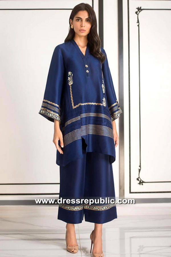 DR15559 Pakistani Street Style Dresses 2019 New York, New Jersey, USA
