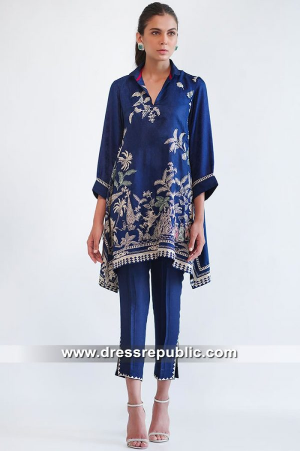 DR15578 Casual and Party Wear Salwar Kameez Trouser Suits Online Shop