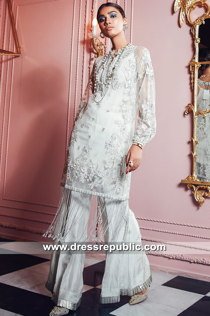 DR15594 Elan Pakistani Designer Dresses Liverpool, Newcastle, Kingston, England
