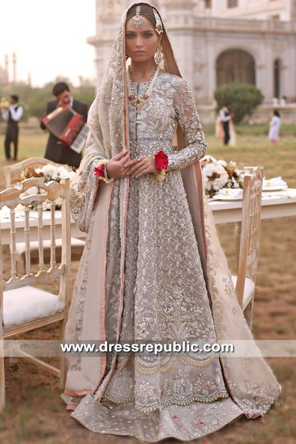 DR15598 Elan Heavy Formal Bridal Dress 2019 Collection Buy in Saudi Arabia