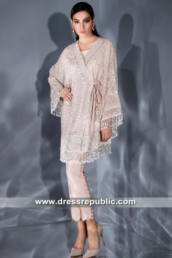 DR15605 Elan Angarkha Dress Pakistani Designer Angarkha Styles 2019
